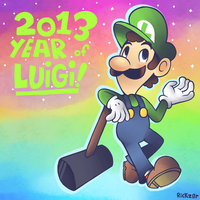 Super September! Day 30 - The Year of Luigi! by Rickz0r
