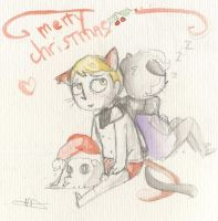 Merry christmas ! by Cheapcookie