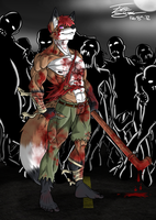 Dai Lightfox, Zombie Killer by ACommonMisconception