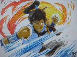 Korra: First Look by StarLight1021