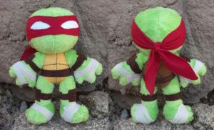 TMNT - Raph by Patchwork-Shark