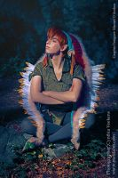 Indian Peter Pan by Nocte-Angelus