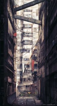 Cradle Song - Outside Alley 01 Concept by softmode
