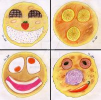 Pancake Faces by Ubermidget