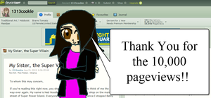 10,000 Pageviews? by 1313cookie