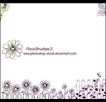 Flora 2 - PS Brushes by photoshop-stock