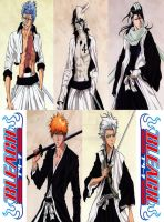 Bleach: Favorite Characters by Saicross