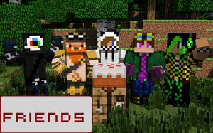 Minecraft Friends by The-Joven-ART