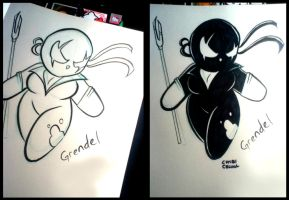 Grendel by ChibiCelina
