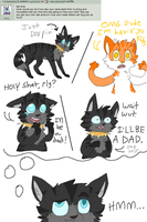 Answer 6: kitty wittys by ask-batstripe