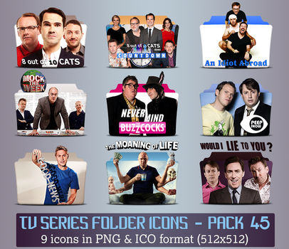 TV Series - Icon Pack 45 by apollojr