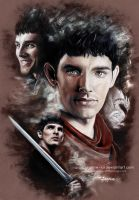 Merlin - The Last Dragonlord by Jeanne-Lui
