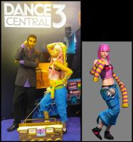 Dare and Rasa. Dance Central 3 by MishiroMirage
