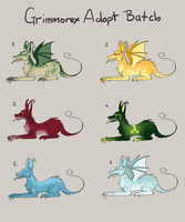 Grimmorex adopt batch 1 CLOSED by Erleuchtete