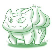Phone it in: Bulbasaur by ChadRocco