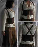 Steampunk Harness by grg-costuming