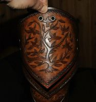 carving leather by Lagueuse
