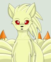 Kate The Ninetails by Zander-The-Artist