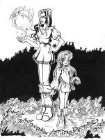 Mage_and_halfling by Betta-Fly