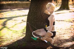Waiting. Evangelyne cosplay, Wakfu by Giuzzys