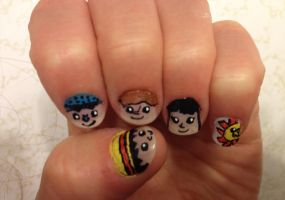 One Piece Nails [1] by imagineBeyondReality