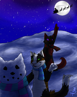 Here Comes Santa Claws by Treetail