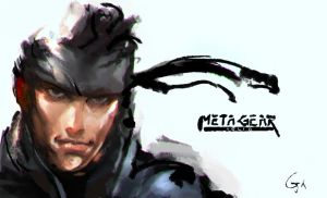 Metal Gear Solid V by WEICHI01