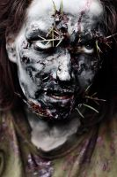 zombie make-up and lighting test. by Kristina86