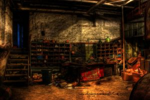 HDR - Milton - Workbench by ellysdoghouse