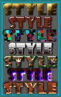 Beautiful styles for Photoshop Mix by Gala3d