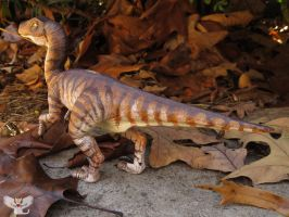 Velociraptor sclupture by ART-fromthe-HEART