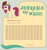 Journals Are Magic - Prim Feathers by CassidyCreations