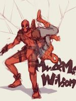 Spideypool15  by LKiKAi