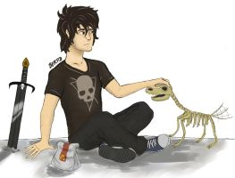 Nico Di Angelo by Berto-Artwork