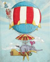 Balloon Circus by FruityMcFace