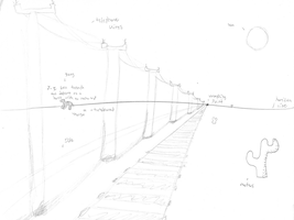 One Point Perspective by XDTheServine