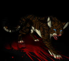 Hawkfrost's Lost Sanity by Pie-Master-Pru