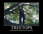 TreeTops -demotivation- by Dragunov-EX