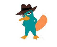 Agent P colored by LillyCrystal