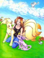 Pokemon and Me by MicahJo