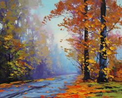 Autumn Splendor by artsaus