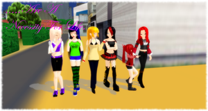 MMD Friends by Vocaloidfan33