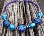 Blues Rhythm Necklace (sold) by ArtLoDesigns