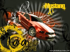 Mustang Wallpaper by HAKAN by pu-team