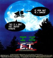 E.T. and I.Z. by Invader-Jim