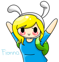 Chibi Fionna by The-Human-Girl