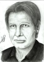 Harrison Ford by RogerMV