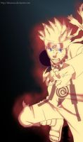 Naruto sage of the six paths by Diraarona