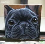 Frenchie by SculptorScotty