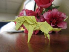 Another Origami Unicorn by 50an6xy06r6n